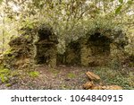 ruins of an old chapel in the... | Shutterstock . vector #1064840915