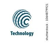 vector logo globe | Shutterstock .eps vector #1064879921