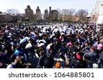 new york city   june 6 2018 ... | Shutterstock . vector #1064885801