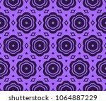 geometric patterns. seamless... | Shutterstock .eps vector #1064887229