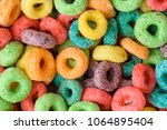cereal background. colorful...   Shutterstock . vector #1064895404