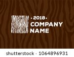 wood and timber texture symbol...   Shutterstock .eps vector #1064896931