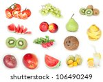 different vegetables combined... | Shutterstock . vector #106490249