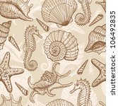 Sea Seamless Pattern. Original...