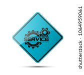 set service icons image of... | Shutterstock .eps vector #1064959061