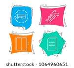 set of lift  escalator and... | Shutterstock .eps vector #1064960651