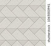 vector seamless pattern. modern ... | Shutterstock .eps vector #1065003941