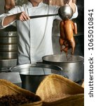 chef preparing of peking roast...   Shutterstock . vector #1065010841