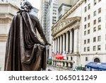 new york city  usa   october 30 ... | Shutterstock . vector #1065011249