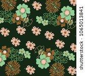 floral panttern in vector   Shutterstock .eps vector #1065013841