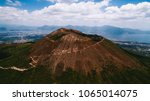 vesuvius volcano from the air | Shutterstock . vector #1065014075