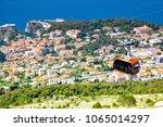 panoramic view of dubrovnik... | Shutterstock . vector #1065014297