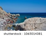 Bay And The Rocky Coast Of The...