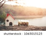 investment in real estate... | Shutterstock . vector #1065015125