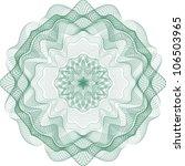 guilloche element for... | Shutterstock .eps vector #106503965