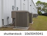 commercial  industrial hvac air ... | Shutterstock . vector #1065045041