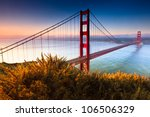 the golden gate bridge of san... | Shutterstock . vector #106506329