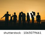 different generations meet the... | Shutterstock . vector #1065079661