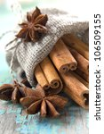 Cinnamon And Anise In A Small...