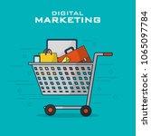 digital marketing business | Shutterstock .eps vector #1065097784