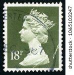 united kingdom   circa 1984 ... | Shutterstock . vector #1065103247