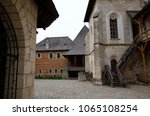 historical temple on a hill.... | Shutterstock . vector #1065108254