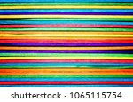 colorful wood panel background  ... | Shutterstock . vector #1065115754