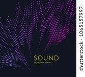 vector illustration of music... | Shutterstock .eps vector #1065157997