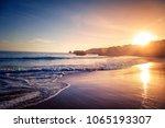 beautiful bright purple purple... | Shutterstock . vector #1065193307