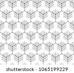 vector seamless geometric... | Shutterstock .eps vector #1065199229