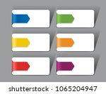 infographic template. raster... | Shutterstock . vector #1065204947