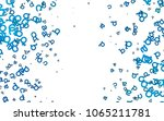 light blue vector template with ...   Shutterstock .eps vector #1065211781