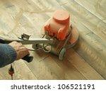 floor sanding | Shutterstock . vector #106521191
