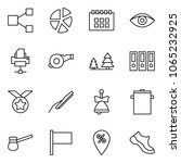 flat vector icon set   share...
