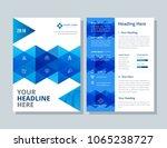 annual report  broshure  flyer  ... | Shutterstock .eps vector #1065238727