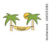summer logo vector illustration ...   Shutterstock .eps vector #1065251081