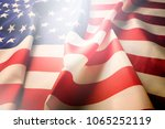 Ruffled American Flag Patriots Day - Fine Art prints