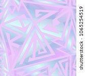 pastel color geometric seamless ... | Shutterstock .eps vector #1065254519