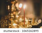 easter holiday. christian... | Shutterstock . vector #1065262895