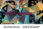 abstract pattern consisting of... | Shutterstock .eps vector #1065263669