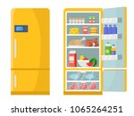 vector illustrations of empty... | Shutterstock .eps vector #1065264251