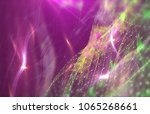 abstract pink background.... | Shutterstock . vector #1065268661
