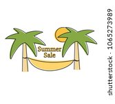 summer sale vector logo...   Shutterstock .eps vector #1065273989