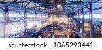fiberglass production industry... | Shutterstock . vector #1065293441