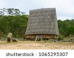 traditional houses at an ethnic ... | Shutterstock . vector #1065295307