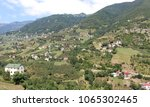 mountain village in turkey.... | Shutterstock . vector #1065302465