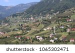 mountain village in turkey.... | Shutterstock . vector #1065302471