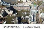 aerial drone bird's eye view... | Shutterstock . vector #1065304631
