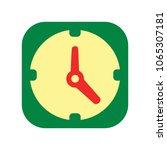 clock icon   clock symbol ... | Shutterstock .eps vector #1065307181