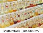 perfume india. oily spirits... | Shutterstock . vector #1065308297